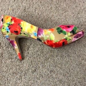 BRAND NEW floral heels from impo